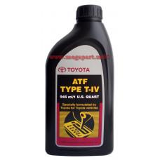 Масло трансмиссионное ATF T-IV 1L TOYOTA (TYPE T4)