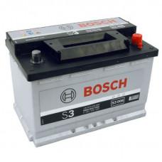 Аккумулятор Bosch S3 12V 70AH 640(EN) 278x175x190 -+
