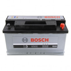 Аккумулятор Bosch S3 12V 90AH 720(EN) 353x168x175 -+