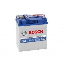Аккумулятор Bosch 40AH 330A(JIS) клемы 0 (187x127x227) S4 018 тонкая клема