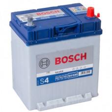 Аккумулятор Bosch 40AH 330A(JIS) клемы 0 (187x127x227) S4 018 тонкая клема+борт