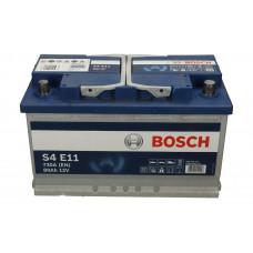 Аккумулятор Bosch 80AH 800A(EN) клемы 0 (315x175x190) S6 011 EFB(AGM-)