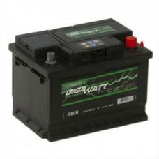 Аккумулятор Gigawatt 60AH 540A(EN) клемы 0 (242x175x190) S4 005