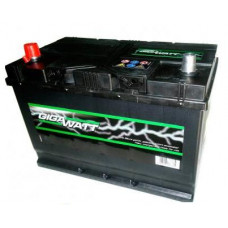 Аккумулятор Gigawatt 60AH 510A(JIS) клемы 0 (232x173x225) S4 024
