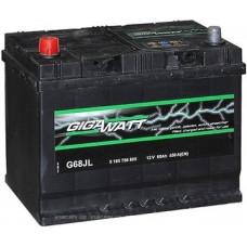 Аккумулятор Gigwatt 68AH 550A(JIS) клемы 1 (261x175x220) S4 027
