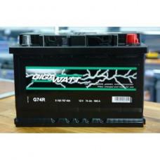 Аккумулятор Gigawatt 70AH 640A(EN) клемы 0 (278x175x190) S3 008