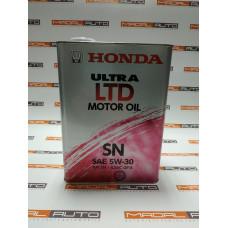Масло моторное Honda 5W30 4L SN/GF-5 Ultra LTD (5W-30)