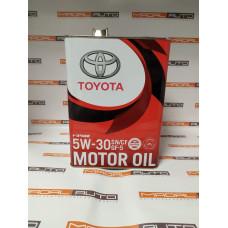 Масло моторное Toyota 5W-30 SN GF-5 4L (5W30)