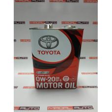 Масло моторное Toyota 0W20 (0W-20) SN/GF-5 4L