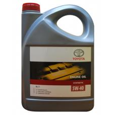 Масло моторное TOYOTA 5W-40 5L (5W40) (08880-80835)