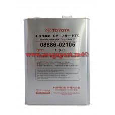Масло трансмиссионное для вариаторов Toyota CVT Fluid TC 4L