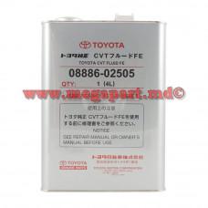 Масло трансмиссионное для вариаторов Toyota CVT Fluid FE 4L