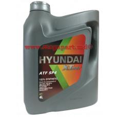 Масло трансмиссионное Hyundai ATF SP-4 Xteer 4L (ATF SP4; ATF SP)