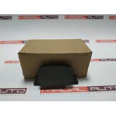 Тормозные колодки задние для Toyota Prius 2003-2009 (04466-47010; 0446647010; 04466-32040; 0446632040)
