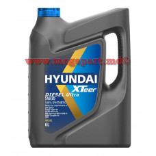 Масло моторное Hyundai 5W-30 XTeer Diesel Ultra C3 6L (5W30)
