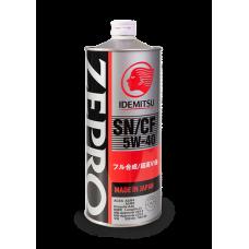 Масло моторное IDEMITSU ZEPRO EURO SPEC SN/CF 5W40 1L (5W-40)  (1849001)