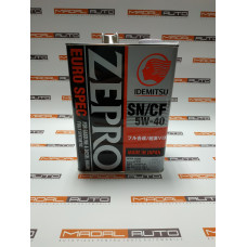 Масло моторное IDEMITSU ZEPRO EURO SPEC SN/CF 5W40 4L (5W-40) (1849004)