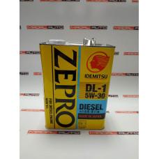 Масло моторное IDEMITSU ZEPRO DIESEL DL-1 5W30 4L (5W-30) (2156004)