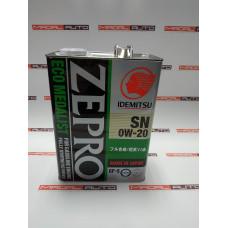Масло моторное IDEMITSU ZEPRO ECOMEDALIST SN/GF-5 0W20(0W-20) 4L (3583004)