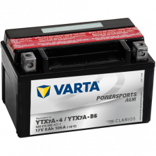 Аккумулятор VARTA 12V  6AH 105A(EN) клемы 1 (151x88x94) YTX7A-BS AGM