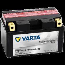 Аккумулятор VARTA 12V  8AH 150A(EN) клемы 1 (150x87x93) TTZ10S-BS AGM