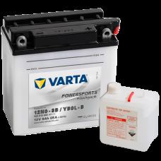 Аккумулятор VARTA 12V  9AH 85A(EN) клемы 0 (136x76x140) 12N9-3B (YB9L-B)