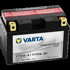 Аккумулятор VARTA 12V 11AH 160A(EN) клемы 1 (150x88x105) YT12A-BS AGM
