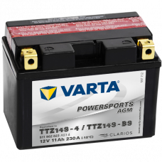 Аккумулятор VARTA 12V 11AH 230A(EN) клемы 1 (150x87x110) TTZ14S-BS AGM