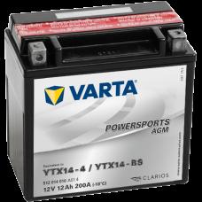 Аккумулятор VARTA 12AH 200A(EN) клемы 1 (152x88x147) M6 018 AGM YTX14-BS