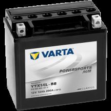 Аккумулятор VARTA 12V 12AH 200A(EN) клемы 0 (150x87x146) YTX14L-BS AGM