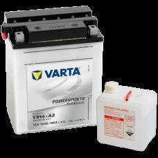 Аккумулятор VARTA 12V 14AH 190A(EN) клемы 1 (136x91x168) YB14-A2 (CB14-A2)