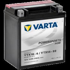 Аккумулятор VARTA 12V 14AH 210A(EN) клемы 1 (150x87x161) YTX16-BS AGM