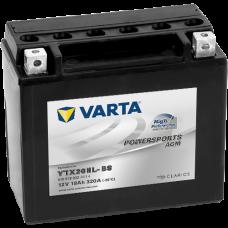 Аккумулятор VARTA 12V 18AH 320A(EN) клемы 0 (175x87x154) YTX20HL-BS AGM