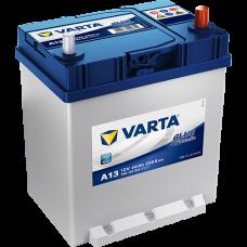 Аккумулятор VARTA 40AH 330A(JIS) клемы 0 (187x127x227) S4 018 тонкая клема+борт