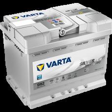 Аккумулятор VARTA 60AH 680A(EN) клемы 0 (242x175x190) S6 005 AGM