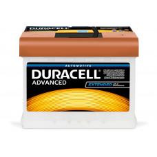 Аккумулятор  Duracell 63Ah (-/+)