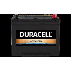 Аккумулятор  Duracell 70Ah (-/+)
