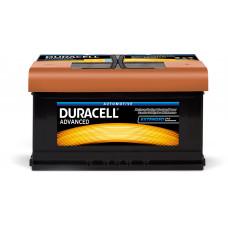 Аккумулятор Duracell 80Ah (-/+)