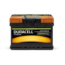Аккумулятор  Duracell Premium 55Ah (-/+)