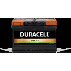Аккумулятор Duracell Premium 72Ah(-/+)