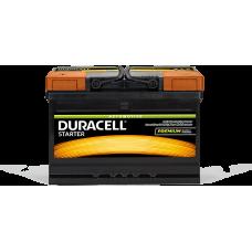 Аккумулятор Duracell Premium 72Ah(+/-)