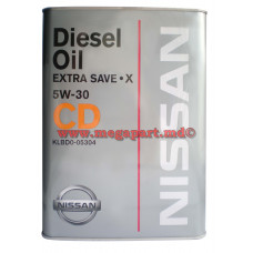 Масло моторное Nissan 5W30 Diesel Extra Save X CD 4L (5W-30)