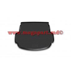 Коврик в багажник полиуретановый Hyundai Santa Fe 2012-2017 5 мест