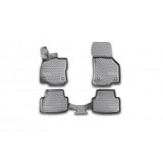 Коврики в салон полиуретановые Skoda Octavia 2013-2018 (NLC.3D.45.16.210K; NLC3D4516210K)